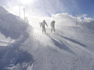 Langlauf im Schnee