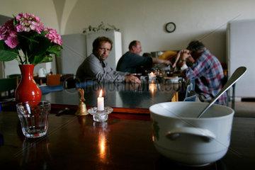 CZE  Tschechien  Czech Republic  Das Zisterzienserkloster in Osek am Fusse der Erzbebirge