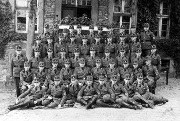 Reichsarbeitsdienst  Gruppenbild