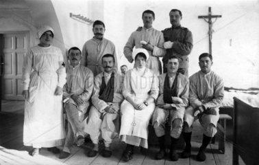 Lazarett Patienten Schwestern Aerzte