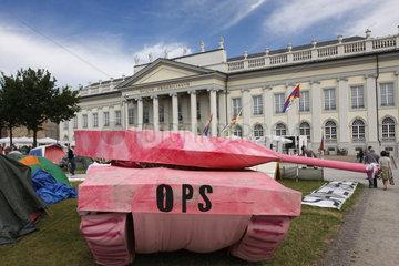 Documenta 13 Occupy Pink Panzer