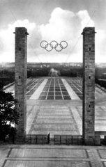 D-Berlin  Olympiastadion 1936