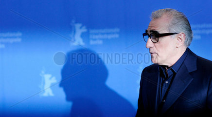 US director Martin Scorsese poses during a photocall