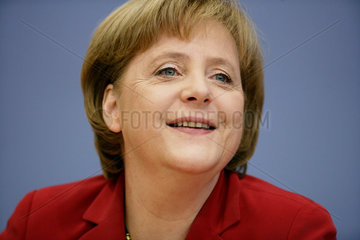 Merkel meets the press