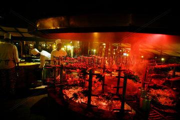 Daily life in Nairobi  Carnivore restaurant
