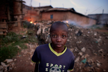 Daily life in Nairobi  Kibera