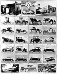 Historie der Fordmodelle