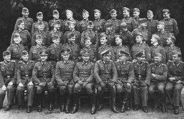 Truppenfoto von NS Soldaten