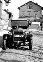 Oldtimer in Strasse