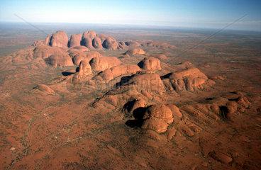 Gebirgslandschaft im australischen Outback