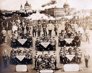 Soldaten und Offiziere 1.Weltkrieg