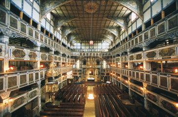 Polen - Schlesien: Friedenskirche in Kauer - Jawor