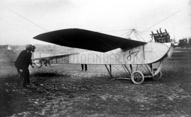 Flugzeug Jeannin Eindecker