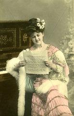 Frau Notenblatt