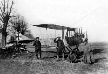 Deutsche Bomber in Polen