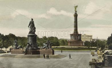 D-Berlin  Bismarkdenkmal und Siegessaeule