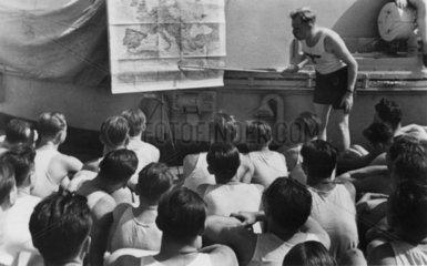 Kriegsmarine  Unterricht  ca. Sommer 1939