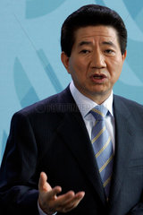 Der Praesident von Sued-Korea Roh Moo-hyun