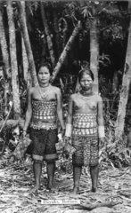 Ureinwohner auf Borneo