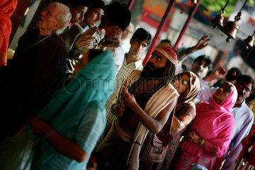 Der Kheer Bhawani Hindu Schrein  der heilige Tempel der Goettin Ragnya Devi
