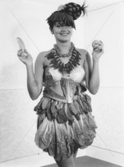 Kleid aus Gemuese