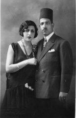 europaeische Frau und arabischer Mann