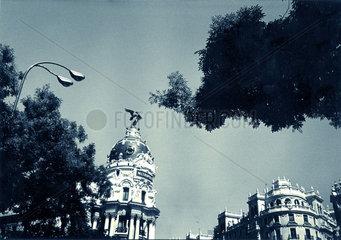 Spanien - Madrid - das Metropolis Haus an der Gran Via