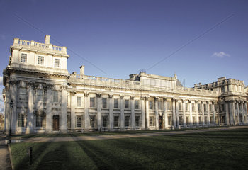 The Old Royal Naval College in Greenwich  London  England