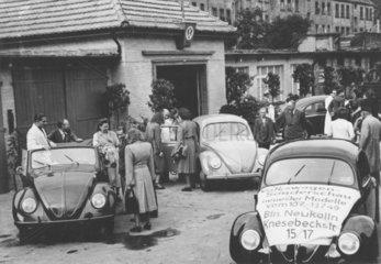 VW Berlin Neukoelln  Deutschland