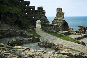 GB Tintagel - Castle
