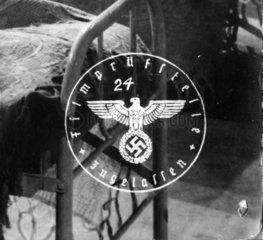 Nazi Stempel  Zensur der Filmpruefstelle