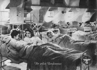 In der nationalsozialistischen Zeit  Schlafsaal