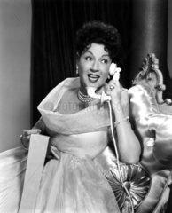 Lady am Telephon