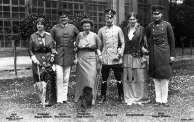 Prinzenfamilie 1910