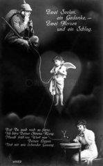 Telefon Soldat Engel Liebe