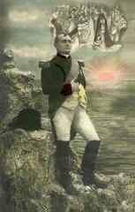 Napoleon vor untergehender Sonne