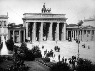 Brandenburger Tor 1901