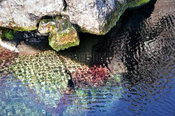 Wasserspiegelung auf Island