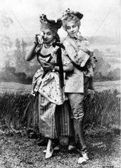 Paar um 19.Jahrhundert
