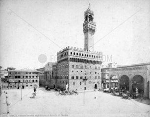 Firenze - Piazza della Signoria mit Palazzo Vecchio