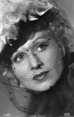 Hilde Seipp Portrait mit Schleier