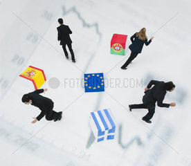 European Union in economic crisis faces prospect of member states departing