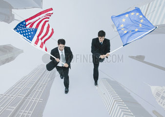 Leaders of the United States and the European Union cooperate in pursuit of mutual objectives