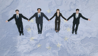 Cooperation among European Union leaders leads to economic stability
