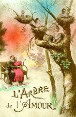 Babys im Baum 1910