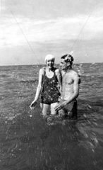 Paar in der Ostsee