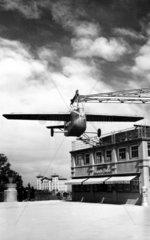 Flugzeugattrappe