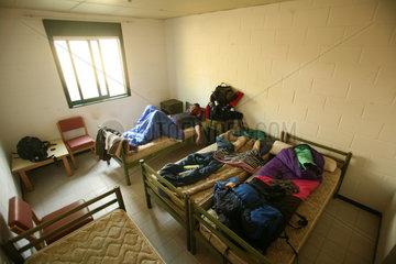 Pilger im Schlafsack Jakobsweg - Camino de Santiago