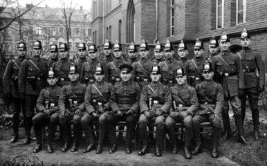 Polizeigruppenbild