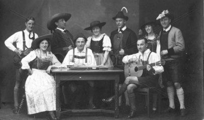 Gruppe aus Bayern